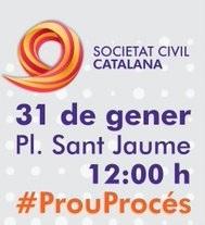 C's apoya la concentración contra el proceso independentista organizada por SCC