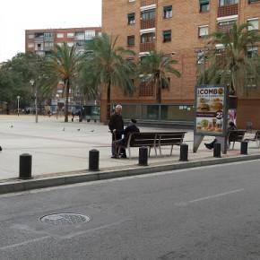 Ciutadans reclama una valla en la Pl. Pau Casals para evitar posibles atropellos