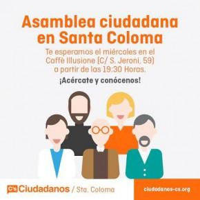 Assemblea Oberta de C's Santa Coloma