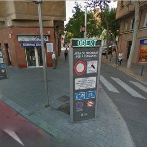 Ciutadans solicitará en el Pleno la modificación del acceso de vehículos en la Avenida Generalitat para acabar con las multas confiscatorias