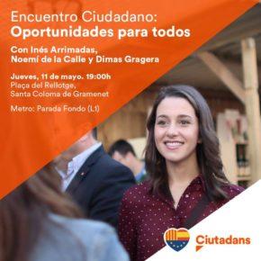Encuentro Ciudadano con Inés Arrimadas y Dimas Gragera