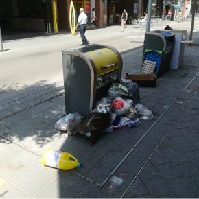 Cs denuncia en el Pleno la falta de limpieza en las calles de Santa Coloma
