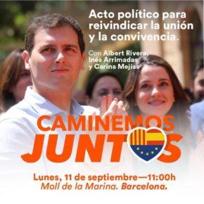 Ciutadans no participarà en els actes institucionals de l'11-S sempre que siguin per dividir i no unir tots els catalans
