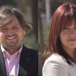 Salva Tovar y María Duarte, ocuparán la segunda y tercera posición en la lista de Ciutadans para las Municipales 2019
