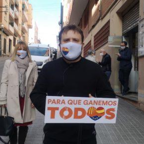 Ciutadans visita el barri de Sant Crist de Badalona per  conèixer de primera mà les seves reivindicacions